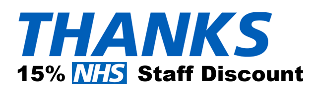 Thank You! 15% Discount for NHS Staff